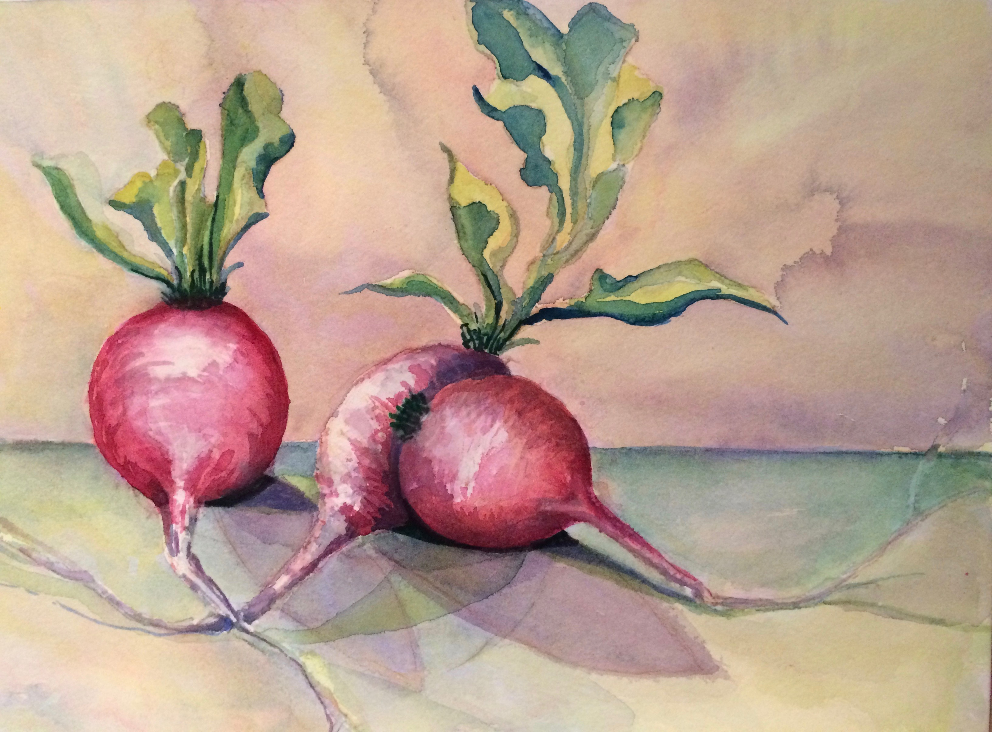Radishes 2 copyright Peggy Willett