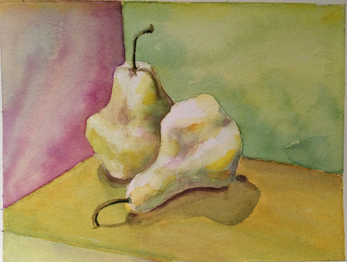 Two Pears final C Peggy Willett